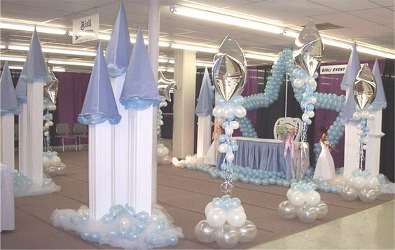 Quinceanera balloon decor quinceanera decorations mis for Balloon decoration ideas for quinceaneras