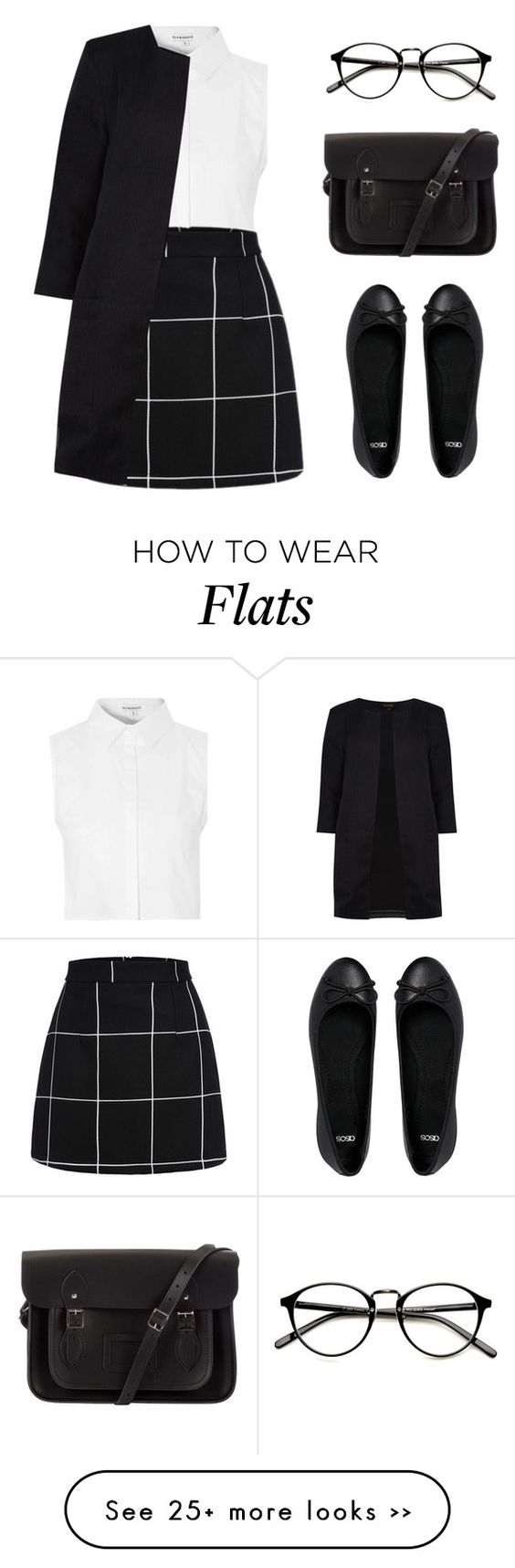 """""""Lily"""" by felytery on Polyvore featuring Glamorous, ASOS, The Cambridge Satchel Company and Dorothy Perkins"""