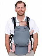 MOBY COMFORT Baby Carrier baby wearing with front, hip and side carry options