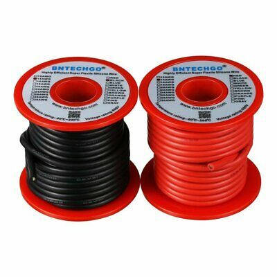 Ad Ebay Bntechgo 14 Gauge Silicone Wire Spool Red And Black Each 25ft Flexible 14 Awg Wire Spool Cable Spool Spool
