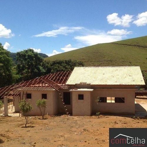 Comtelha On Instagram Telhado Colonial Usando Telha Portuguesa Mesclada Resinada Estrutura Em Madeira Paraju Ou M Em 2020 Telhados Coloniais Estruturas Colonial