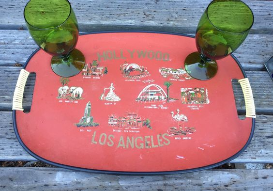 A personal favorite from my Etsy shop https://www.etsy.com/listing/254077237/hollywood-los-angeles-souvenir-vintage