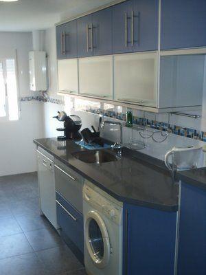 muebles de cocina azul | Diseño de interiores
