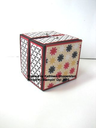 origami box tutorial. i think you can do the same thing w/o a paper cutter or bone folder.