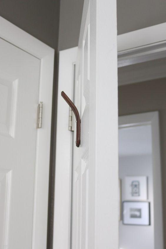 How To Hang A Hook On A Hollow Door The Diy Playbook Bathroom Door Hooks Hang Towels In Bathroom Hollow Core Doors