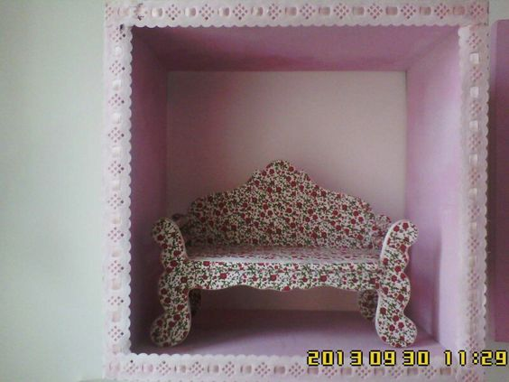 Nicho quarto de menina