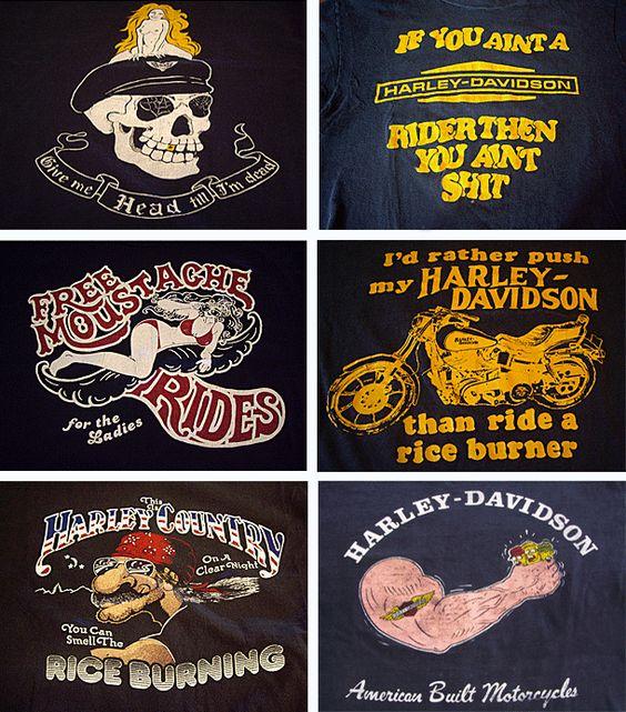 Vintage Harley T Shirts 14