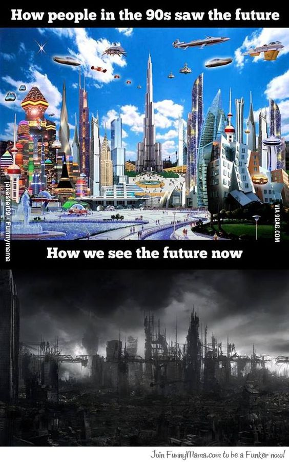 Future then and now