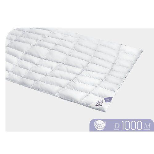 Vier Jahreszeiten 100 Eiderdaunen Bettdecke D1000 Schlafstil