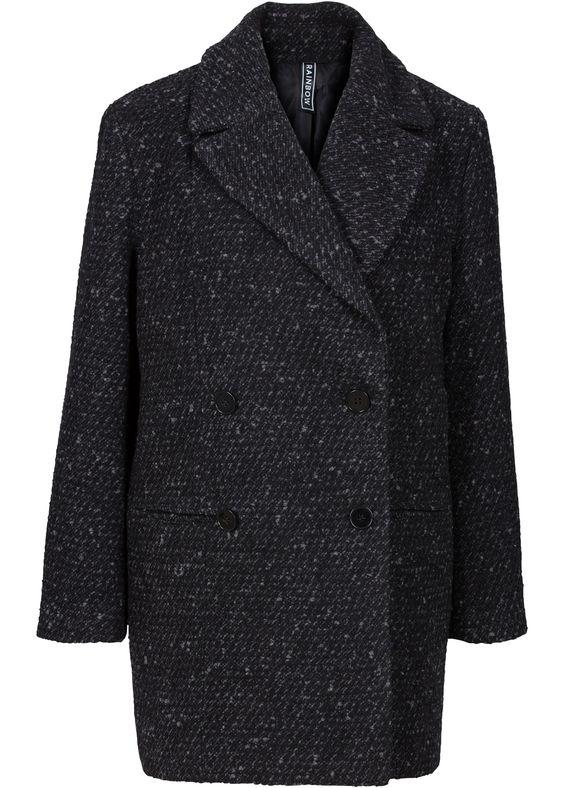 trendy mantel mit boucl garn shops im online and mantels. Black Bedroom Furniture Sets. Home Design Ideas