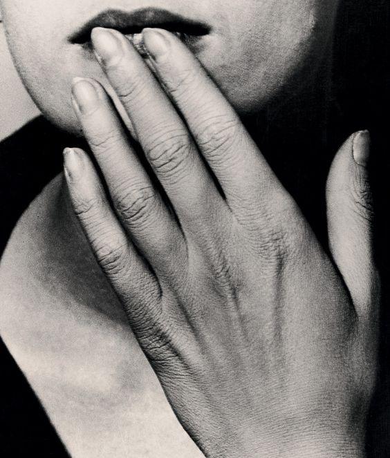 MAN RAY | HANDS ON LIPS | 1926 | Via gacougnol: Man RayHand on lips 1926: