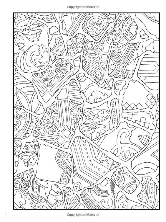 dover paisley designs coloring book. creative haven fanciful ...