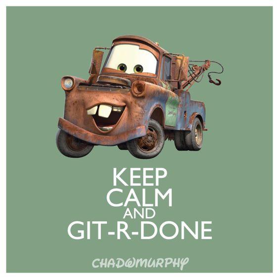 Keep Calm & Git-R-Done