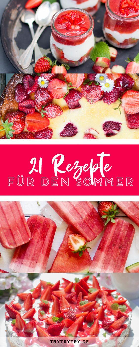 So schmeckt der Sommer! 21 süße Rezepte für die heiße Jahreszeit