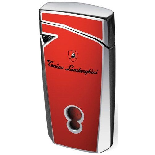 Tonino Lamborghini Magione Red Torch Flame Cigar Lighter Cigar Store Online Cigar Lighters Lighter Leather Box
