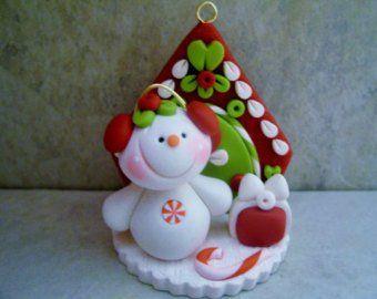 Etsy El Lugar Para Comprar Y Vender Todo Lo Que Está Hecho A Mano Navidad De Arcilla Polimérica Arcilla De Navidad Manualidades