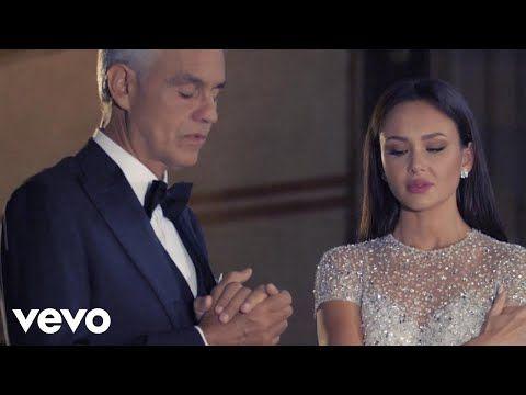 Andrea Bocelli Aida Garifullina Ave Maria Pietas Youtube