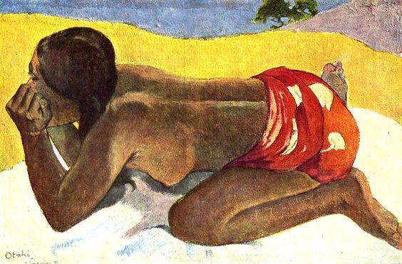 Paul Gauguin, Otahi is Alone