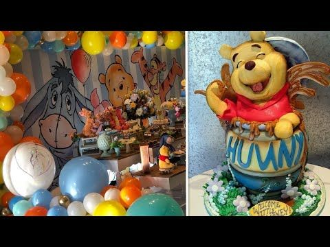 افكار مميزة لحفلات ويني الدبدوب Stunning Ideas For Winnie 2 Parties Youtube Painting Birthday Art