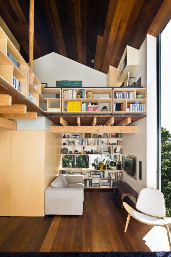 nichos para livros