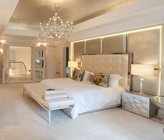Kris turnbull studio luxury new mansion london for New house bedroom ideas