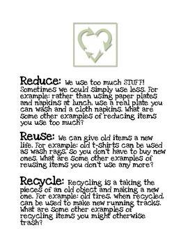 Speech on recycling