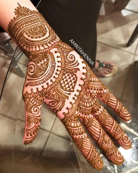 wedding mehndi designs simple