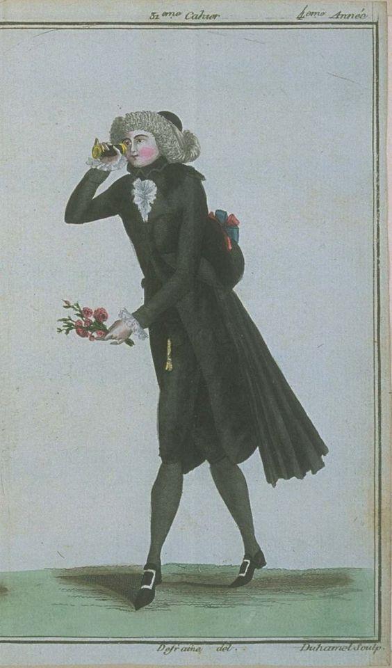 Magasin des Modes, October 1789.:
