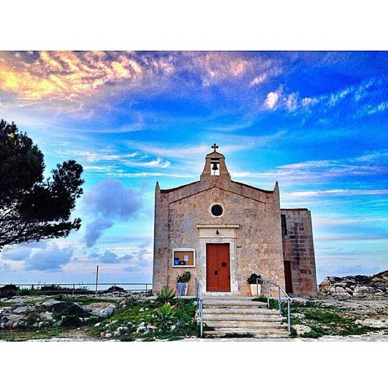"""""""The chapel of Our Lady of light, Malta."""