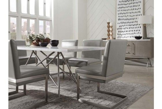 Coral Table Mor Furniture For Less Metal Dining Table Vintage