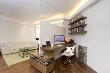 One Robinson Place - Minimalistic Design with an Artistic Touch contemporary home office