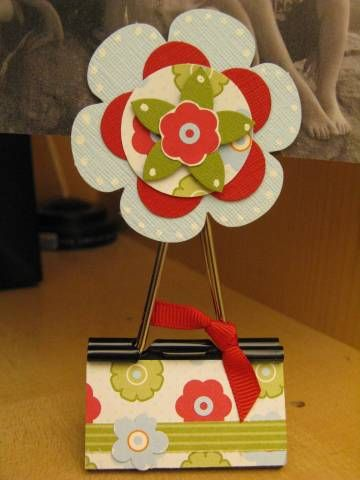 Photo Holder by amypepin - Cards and Paper Crafts at Splitcoaststampers