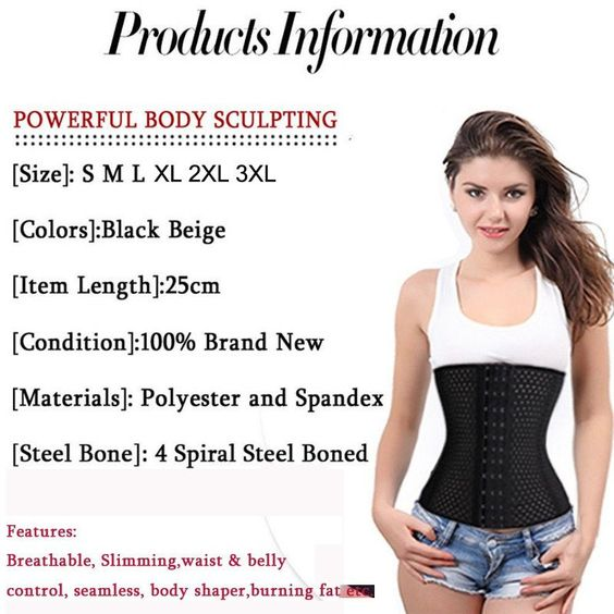 Belly Band Corset Girdle Waist Trainer