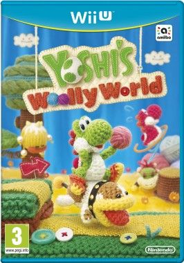 Chris got me a Wii-U as an early xmas gift and I love this game, Yoshi's Woolly World yeah! 11/13/15