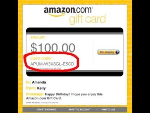 Free Amazon Gift Card Code Generator No Download Free Amazon Gift