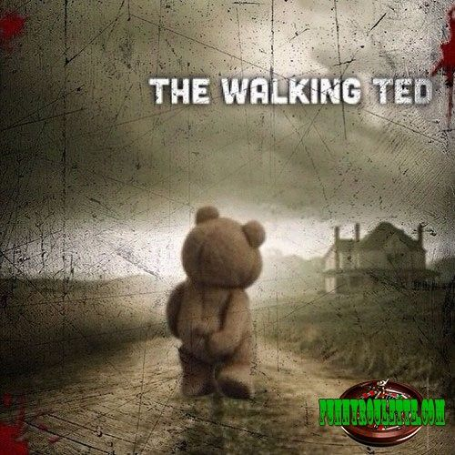 Hahaha, OMG look at this the walking dea wait what