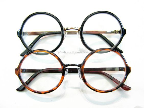 Large Frame Tortoise Shell Glasses : Details about Oversized Large Round Eyeglass Frames Wide ...