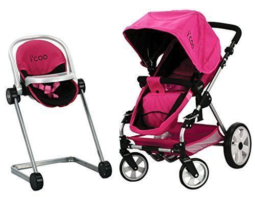 Hauck-Doll-Stroller-Pram-Icoo-Grow-With-Me-PlaySet-4in1