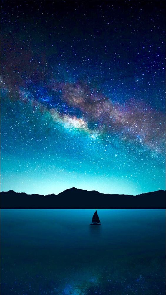 Imagine a world that had a night sky that looked like this.