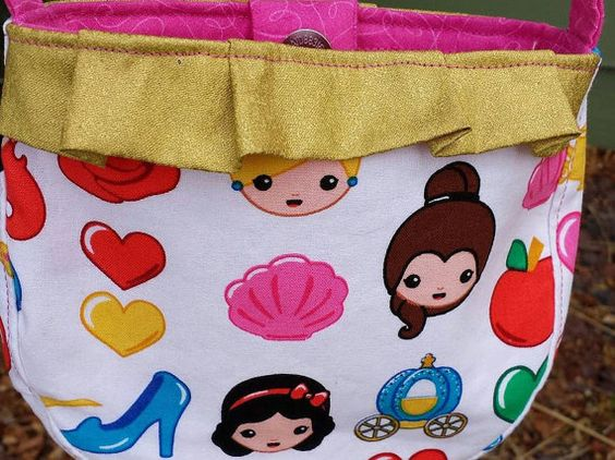 Little Girl Princess Purse  Emma by JustPlainSweet on Etsy