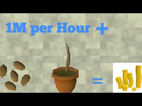 Osrs Mobile Money Making Method 1m Per Hour With Farming Bank Standing