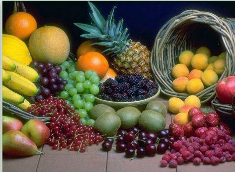 Bodegon con frutas tropicales (432 pieces)