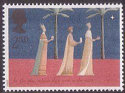 Christmas 2nd Stamp (1996) The Three Kings