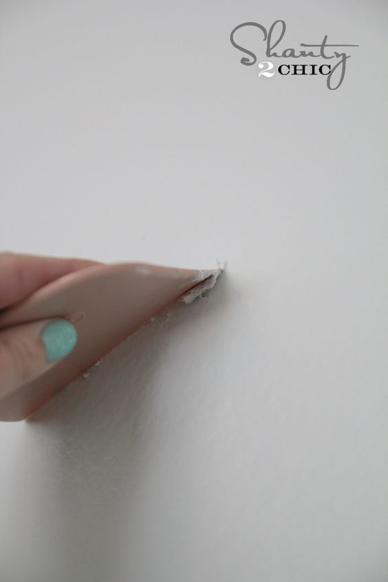 How to patch nail holes  Like wall color and good list of painting supplies