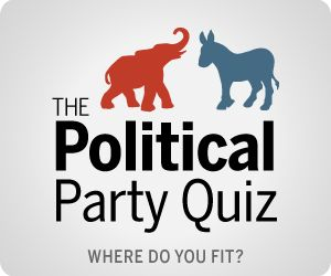 Pew Research Center - Do your views align more with Republicans, Democrats or Independents?  Answer 12 questions to find our where you fit on the political spectrum.  Explore how you compare to other Americans by age, gender, race and religion.: