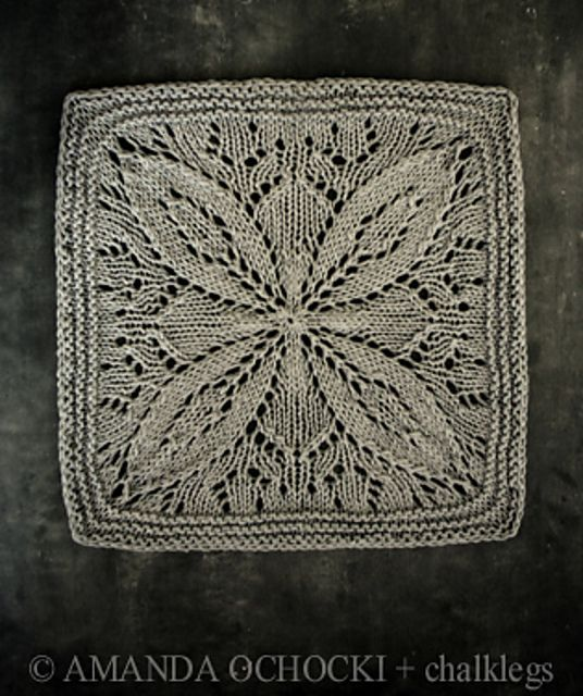 Ravelry: chalklegs' kunst lace square