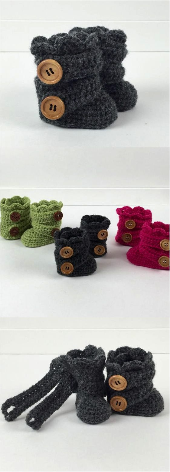 We all know that baby shoes are the cutest things on the planet, but wait till you see these hand-crochet'ed baby booties! So precious!! | Made on Hatch.co by independent makers & artists: