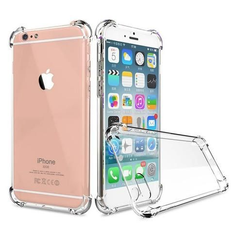 Clear Silicone Rubber Cover iPhone Case