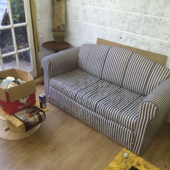 The new sofa has arrived and in place.