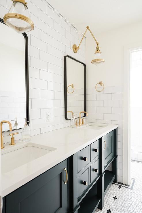 Farmhouse Style Bathroom Vanity Mirrors Trendecors